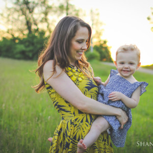 Richmond, Indiana Family Photography: Leah + Cora